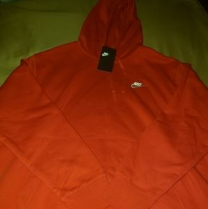 Nike Mens Red XL Pullover.